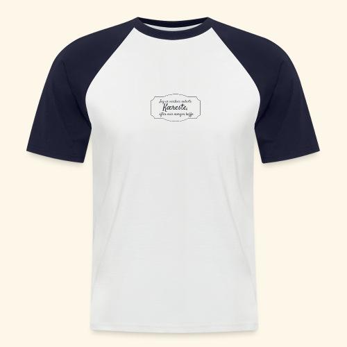 Verdens sødeste kæreste - Kortærmet herre-baseballshirt