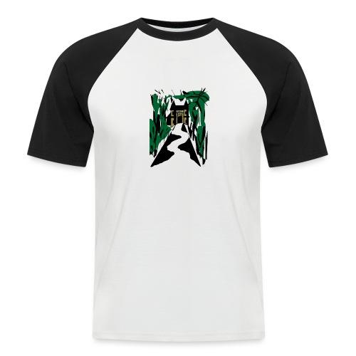 HALLOWEEN SPOOKY HAUNTED MANSION 2017 - Männer Baseball-T-Shirt