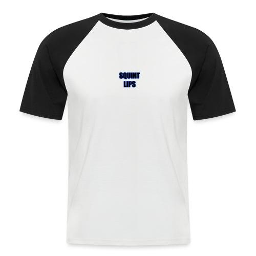 Squint Lips Merch - Men's Baseball T-Shirt