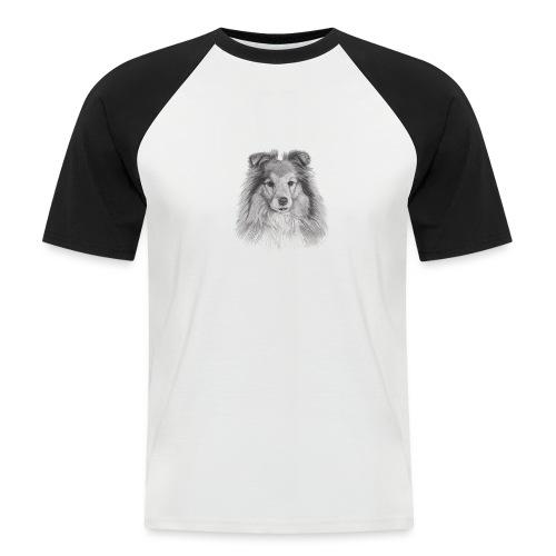 shetland sheepdog sheltie - Kortærmet herre-baseballshirt