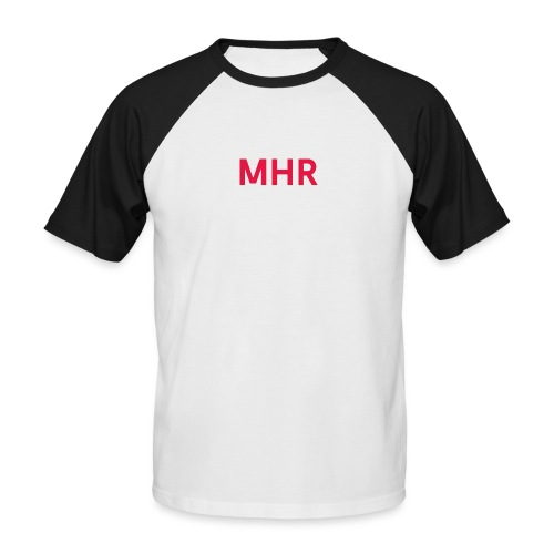 MHR GSCHFT - Männer Baseball-T-Shirt