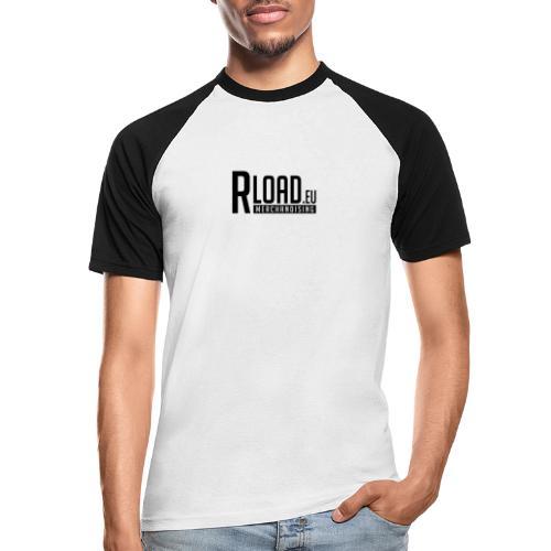 Logo Merchandising (Nero) - Maglia da baseball a manica corta da uomo