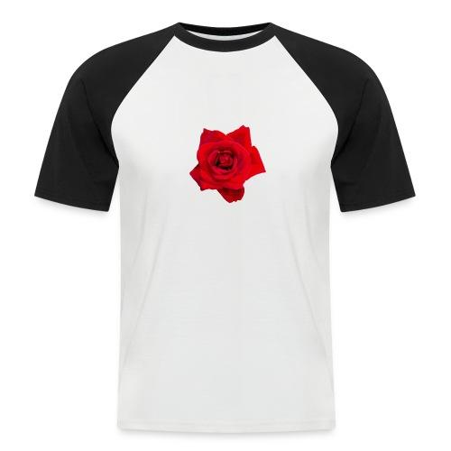 Red Roses - Koszulka bejsbolowa męska