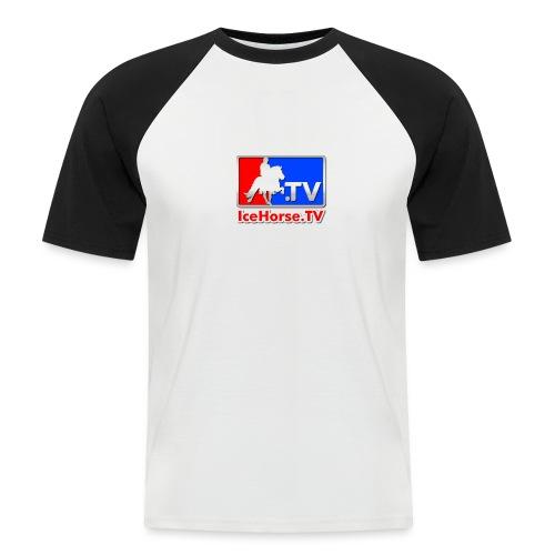 IceHorse logo - Men's Baseball T-Shirt