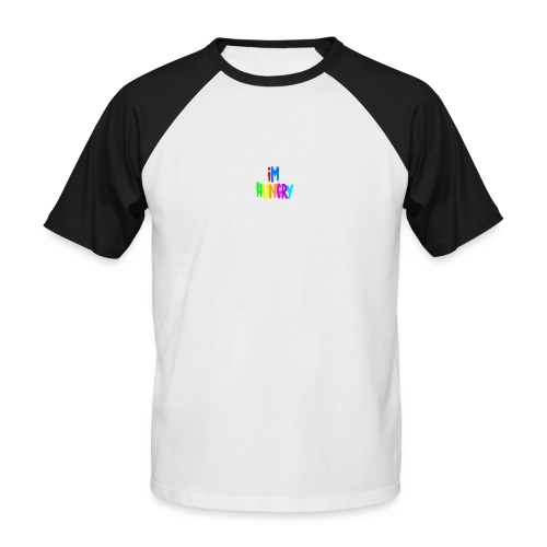 Im Hungry - Men's Baseball T-Shirt