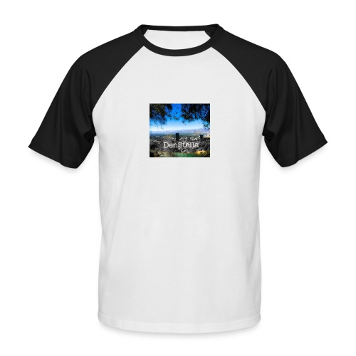Denstella - Kortærmet herre-baseballshirt