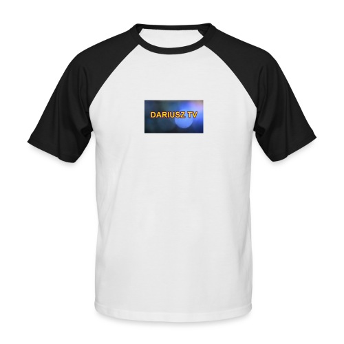 DARIUSZ TV - Koszulka bejsbolowa męska