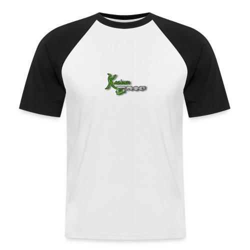 Kaslum Gaming Logo - Kortærmet herre-baseballshirt