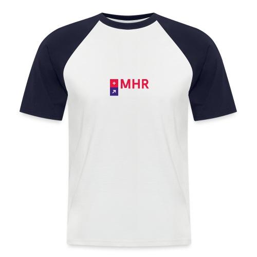 MHR GSCHFT mit Logo - Männer Baseball-T-Shirt
