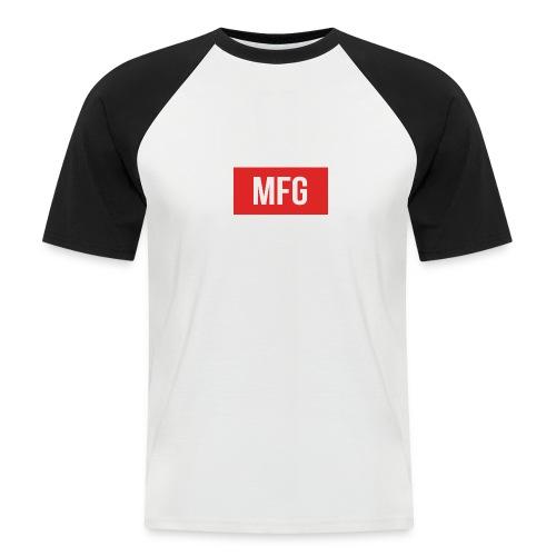 MFG on Youtube Logo - Men's Baseball T-Shirt