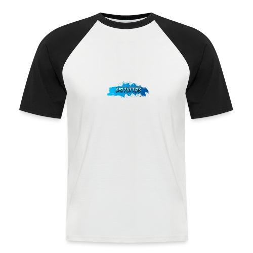 Bri Futties paint design - Men's Baseball T-Shirt
