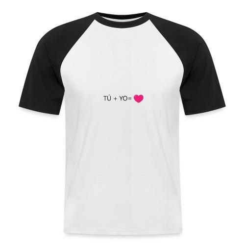 amor - Camiseta béisbol manga corta hombre