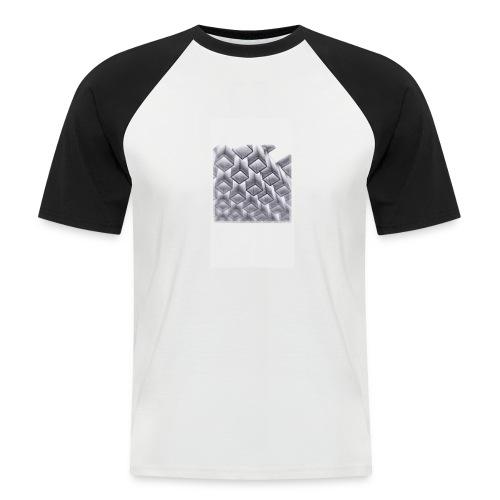 squares - Men's Baseball T-Shirt