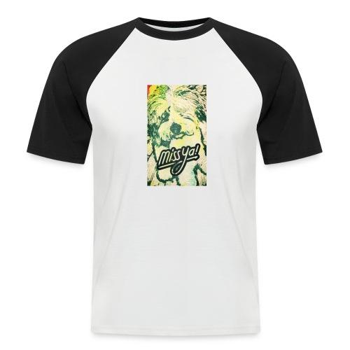 Musste, süsser Hund - Männer Baseball-T-Shirt