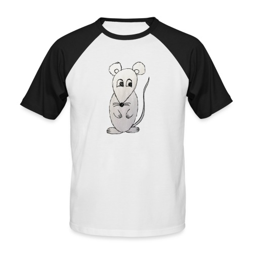 LackyMouse - Männer Baseball-T-Shirt