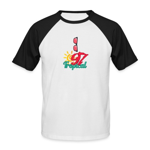 A01 4 - T-shirt baseball manches courtes Homme