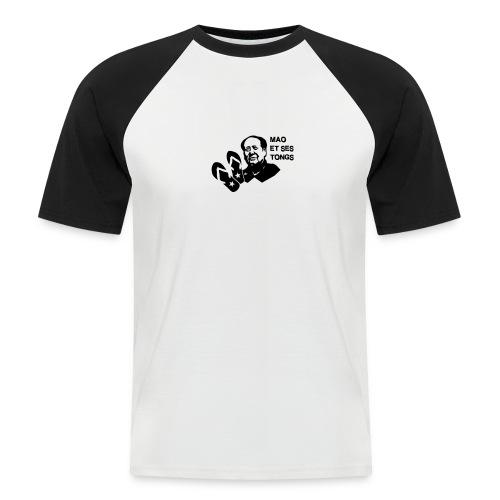 MAO et ses tongs - T-shirt baseball manches courtes Homme