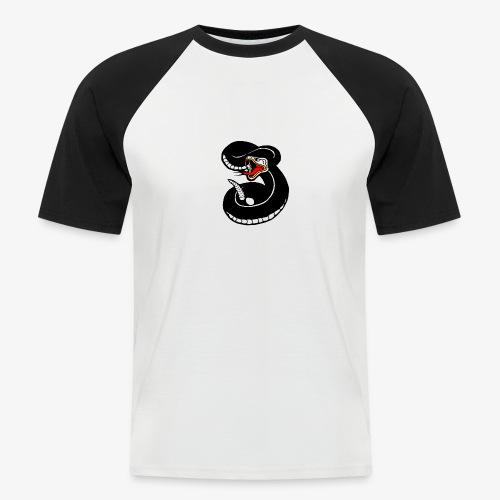 snake - T-shirt baseball manches courtes Homme