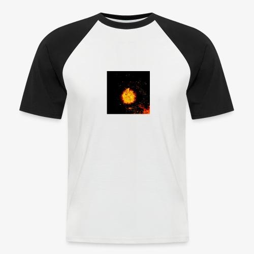 FIRE BEAST - Mannen baseballshirt korte mouw