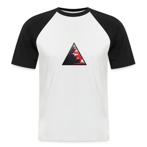 Climb high as a mountains to achieve high - Men's Baseball T-Shirt