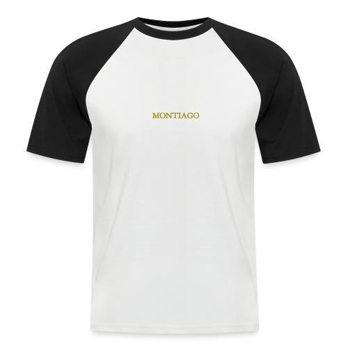 MONTIAGO LOGO - Men's Baseball T-Shirt