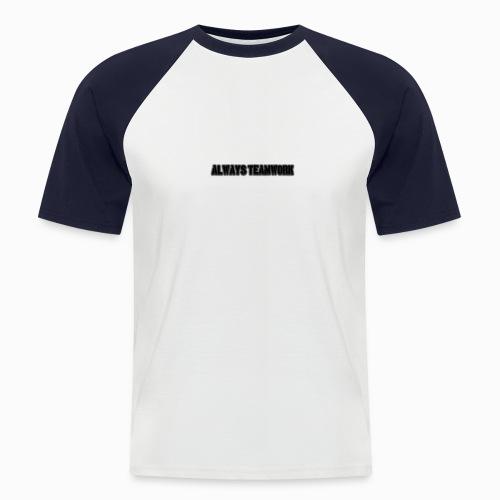 at team - Mannen baseballshirt korte mouw