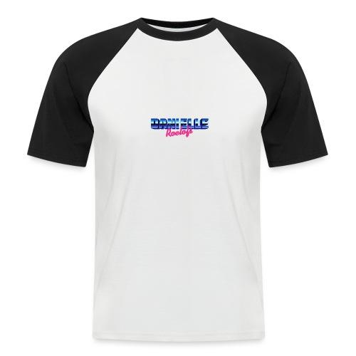danielle - Mannen baseballshirt korte mouw