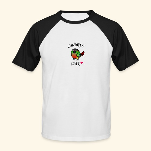 Conures' Lover: opaline - T-shirt baseball manches courtes Homme