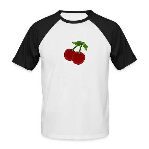 cherry - Koszulka bejsbolowa męska