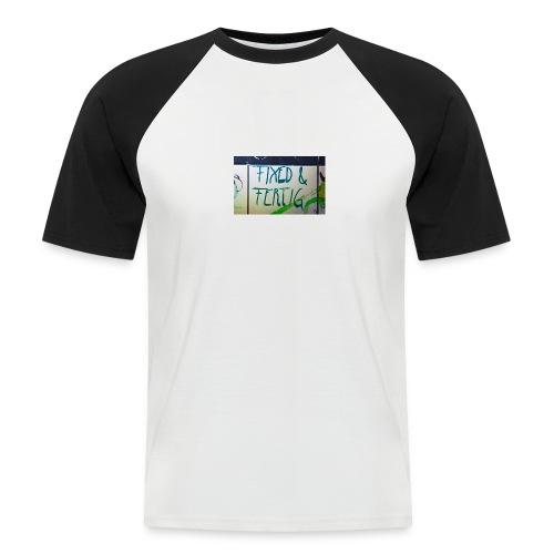 KLOSPRUCH FIXED & FERTIG - Männer Baseball-T-Shirt