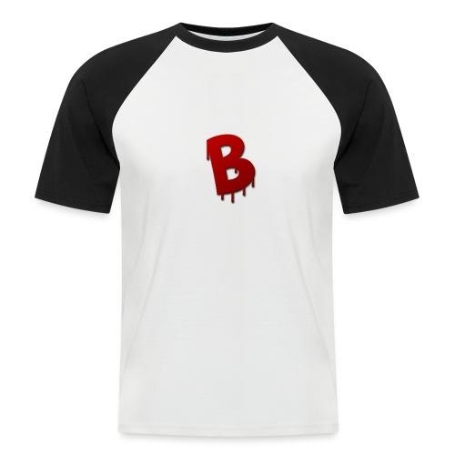 Rood Bartjuh - Mannen baseballshirt korte mouw