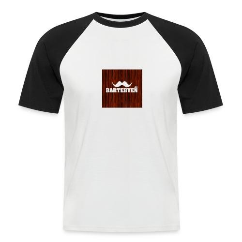 logo bartebyen buttons - Kortermet baseball skjorte for menn