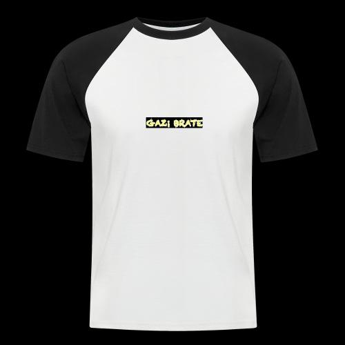GAZI BRATE YT - Männer Baseball-T-Shirt