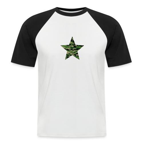 CamouflageStern - Männer Baseball-T-Shirt