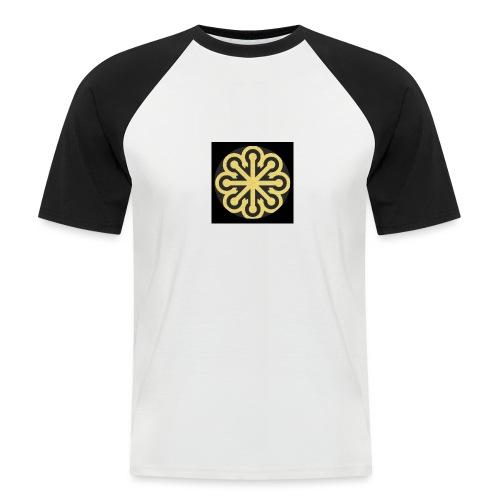 BGLogoGOLD - Men's Baseball T-Shirt