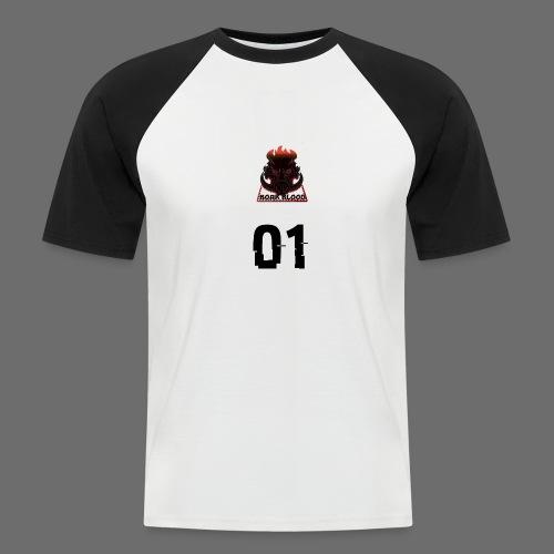 Boar blood 01 - Koszulka bejsbolowa męska