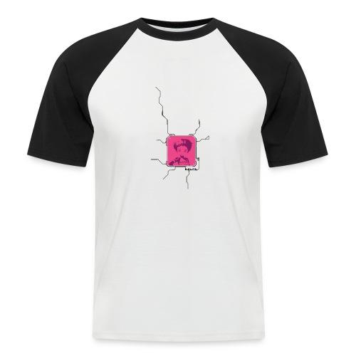 Code lyoko - T-shirt baseball manches courtes Homme