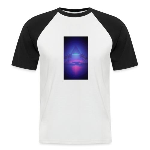 Vaporwave12 - T-shirt baseball manches courtes Homme
