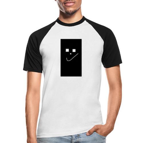 Smile :) - Männer Baseball-T-Shirt