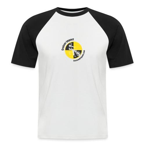 Crash Test 2 - T-shirt baseball manches courtes Homme