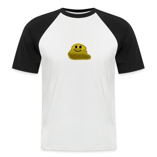 EinfachMC-Logo - Männer Baseball-T-Shirt