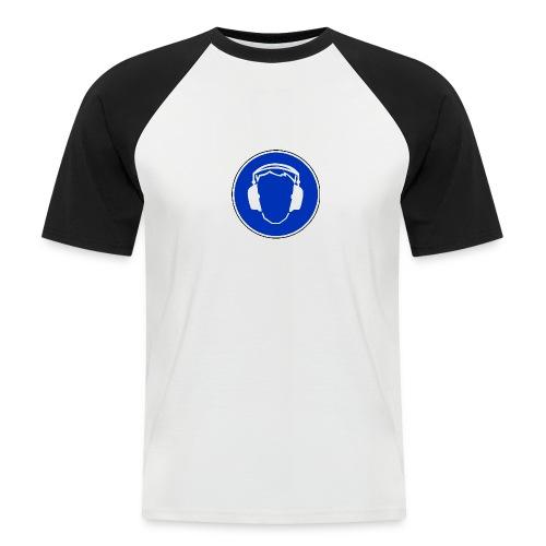 gehoehrschutz benutzen - Männer Baseball-T-Shirt