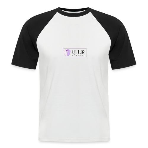 Qi Life Academy Promo Gear - Men's Baseball T-Shirt