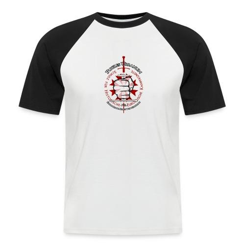 Logo frei PUR mitWa trans - Männer Baseball-T-Shirt