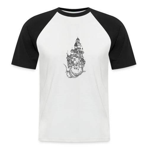 Schnecke - Männer Baseball-T-Shirt