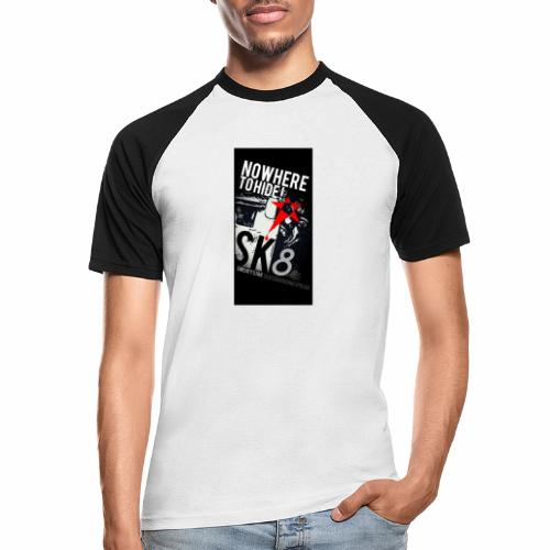 NO WHERE TO HIDE - T-shirt baseball manches courtes Homme