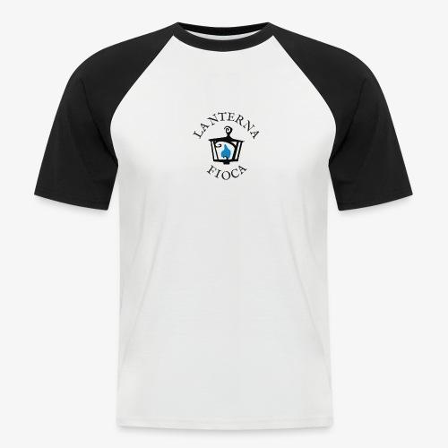Logo e Scritta Lanterna Fioca - Maglia da baseball a manica corta da uomo