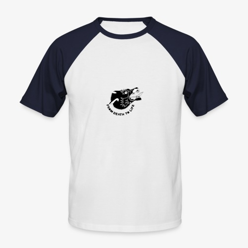 wolf - T-shirt baseball manches courtes Homme