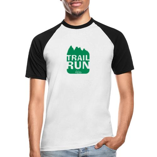 Trail Run - Männer Baseball-T-Shirt