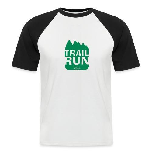 Trail Run - Männer Baseball-T-Shirt